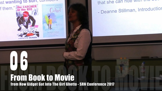 06 From Book To Movie from How Gidget Got Into the Girl Ghetto - Dr. Rosanne Welch - SRN Conference