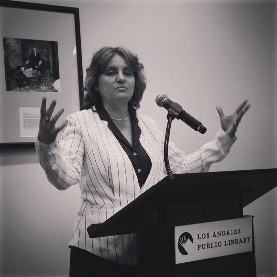 Dr. Rosanne Welch presents Opening Remarks at The Industry in Our Backyard: Television Production in Los Angeles 1940s-1980s [Photo]