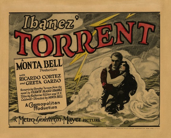 A History of Screenwriting 53 - Torrent Starring Greta Garbo - Scenario by Dorothy Farnum - 1926