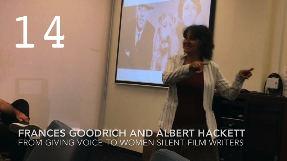 Frances Goodrich and Albert Hackett from Giving Voice to Silent Films and the Far From Silent Women Who Wrote Them with Dr. Rosanne Welch [Video]
