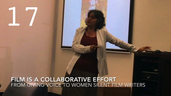 Film Is A Collaborative Effort from Giving Voice to Silent Films and the Far From Silent Women Who Wrote Them with Dr. Rosanne Welch [Video]