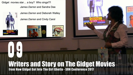 09 Writers and Story on the Gidget Movies from How Gidget Got Into the Girl Ghetto [Video] (0:55) - Dr. Rosanne Welch - SRN Conference