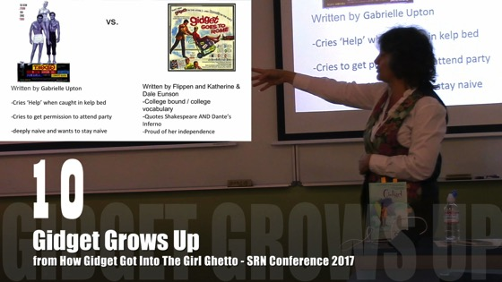 10 Gidget Grows Up from How Gidget Got Into the Girl Ghetto [Video] (0:44) - Dr. Rosanne Welch - SRN Conference