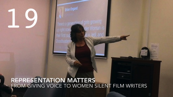 Representation Matters from Giving Voice to Silent Films and the Far From Silent Women Who Wrote Them with Dr. Rosanne Welch