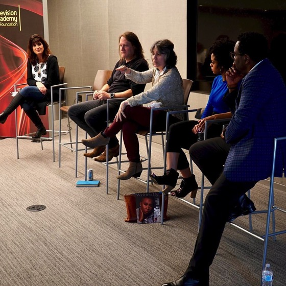 Visiting Professionals Panel At The Television Academy -- The Panel 3