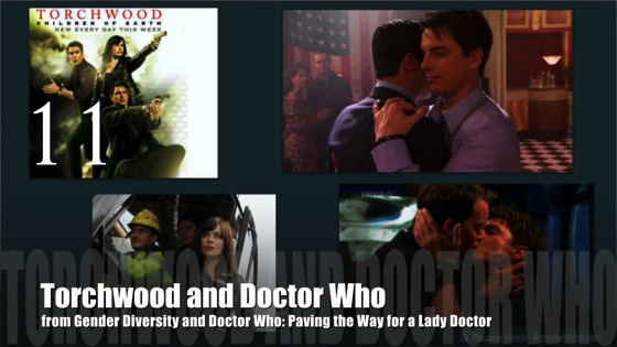 11 Torchwood and Doctor Who from Gender Diversity in the Who-niverse
