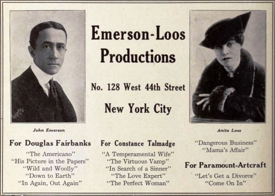 4 26 Emerson Loo Productions Dec 1920 EH