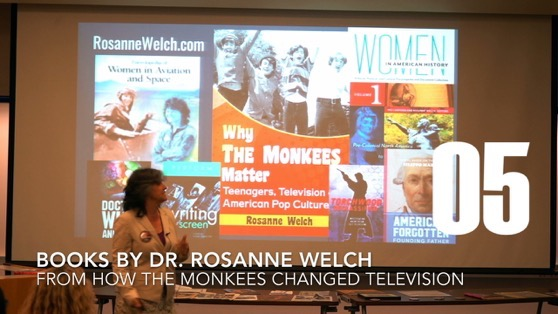 05 Books by Dr. Rosanne Welch from How The Monkees Changed Television