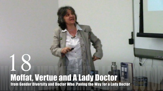18 Moffat, Vertue and a Lady Doctor from Gender Diversity in the Who-niverse