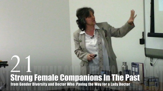 21 Strong Female Companions In The Past from Gender Diversity in the Who-niverse