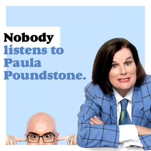 New Podcast: Nobody Listen to Paula Poundstone - Sponsored by The Stephens College MFA In Screenwriting Program