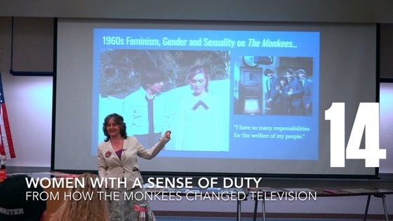 14 Women With A Sense Of Duty from How The Monkees Changed Television [Video] (0:53)