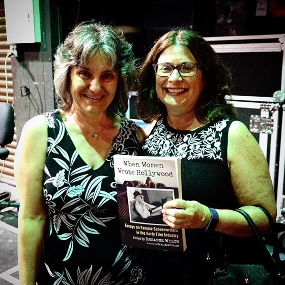 "Rosanne Welch and Karen Loop at ""When Women Wrote Hollywood"" Book Launch"