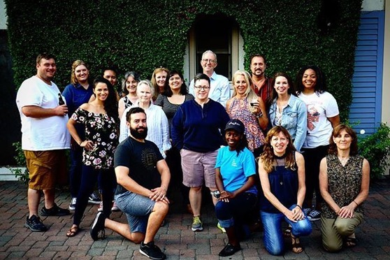 Class of 2020 - Stephens College MFA in Screenwriting in Television via Instagram