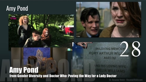 28 Amy Pond from Gender Diversity in the Who-niverse