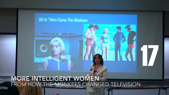 17 More Intelligent Women from How The Monkees Changed Television [Video] (0:54)