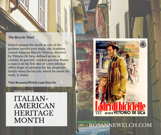 The Bicycle Thief/Bicycle Thieves - Italian-American Heritage Month - 21 in a series