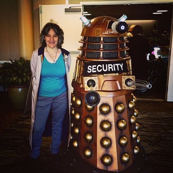 They are serious about security at this con! via Instagram