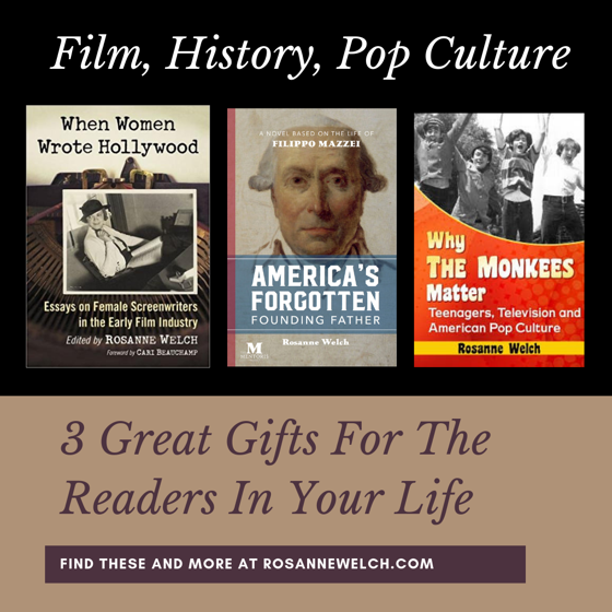 3 Great Gifts for the Readers in your Life from Dr. Rosanne Welch
