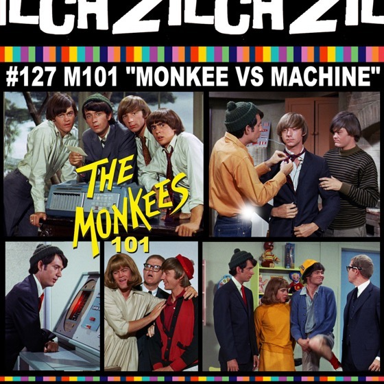Rosanne co-hosts Zilch #127 Monkees 101 on the episode,