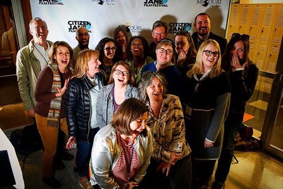 Stephens College MFA-ers at the Citizen Jane Film Festival via Instagram