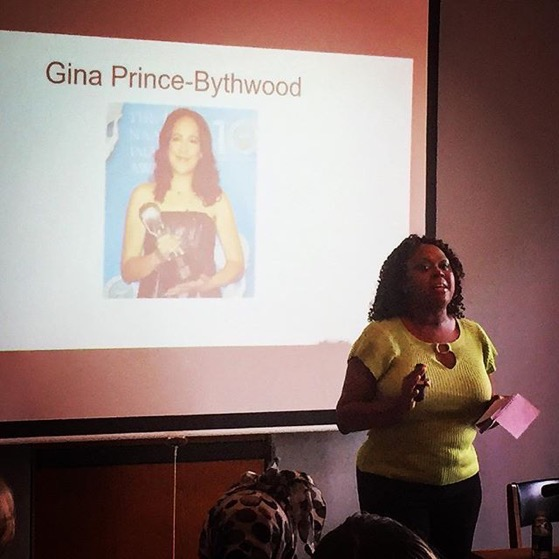 Y'Dhanna Daniels presents on Gina Prince-Bythwood via Instagram