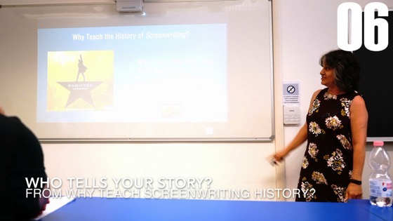 06 Who Tells Your Story? from Why I Created a History of Screenwriting Course [Video] (50 seconds)