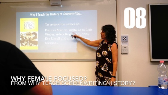 08 Why Female Focused from Why I Created a History of Screenwriting Course