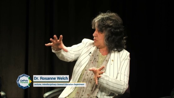 Rosanne appears on Cal Poly Pomona College of Education and Integrative Studies (CEIS) Podcast to discuss Interdisciplinary General Education (IGE) [Video] (30 Minutes)