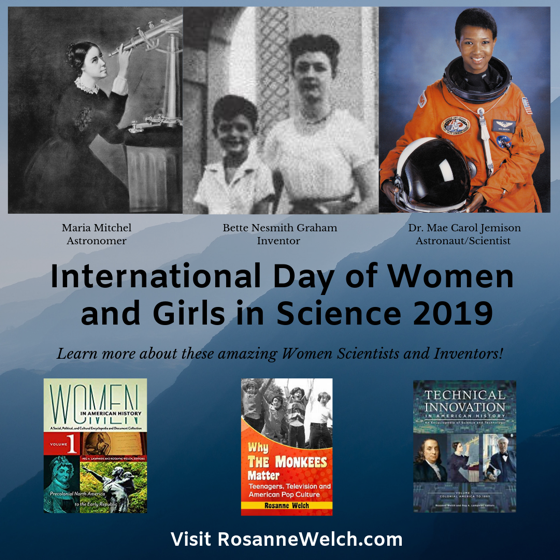 Celebrate International Day of Women and Girls in Science - 11 February 2019