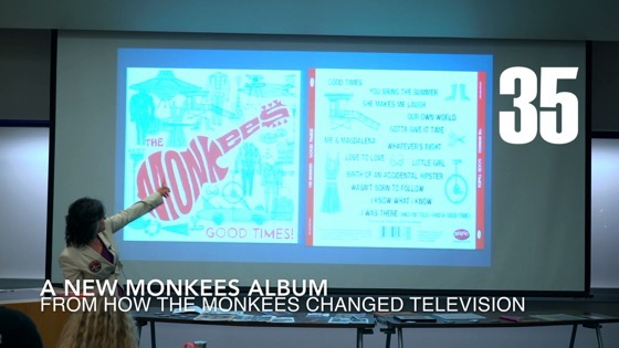 35 A New Monkees Album from How the Monkees Changed Television [Video] (50 seconds)