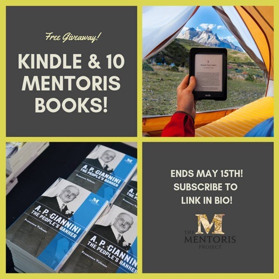 Win a KINDLE & 10 Mentoris Books!