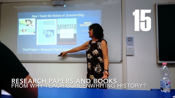 15 Research Papers and Books from Why (and How) I Created a History of Screenwriting Course