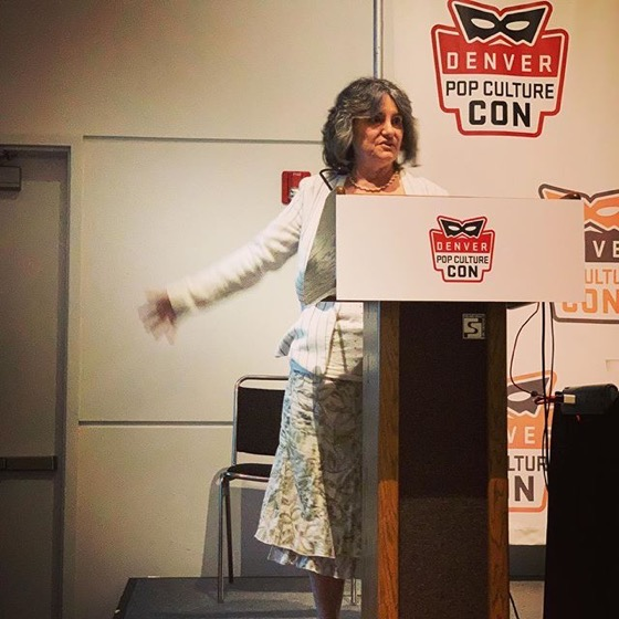 "Presenting on ""Why The Monkees Matter"" at Denver Pop Culture Con via Instagram"