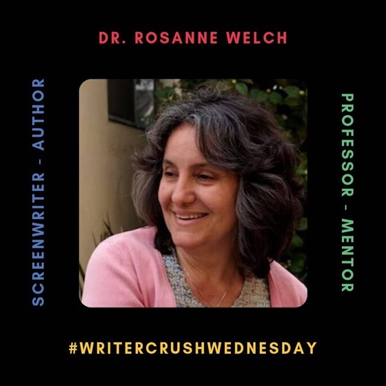 Dr. Rosanne Welch, PhD is this week's #WriterCrushWednesday via Write or Die Chicks!