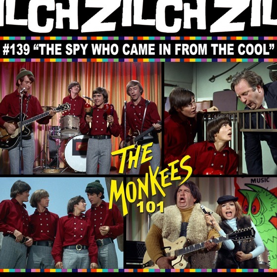 Rosanne co-hosts Zilch #139 Monkees 101 on the episode