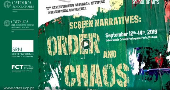 Video Montage, Screenwriting Research Network Conference, Porto, Portugal, September 2019