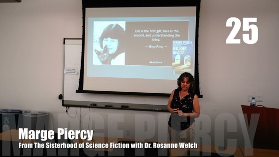 25 Marge Piercy from The Sisterhood of Science Fiction - Dr. Rosanne Welch