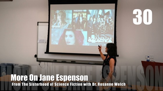 30 More On Jane Espenson from The Sisterhood of Science Fiction - Dr. Rosanne Welch