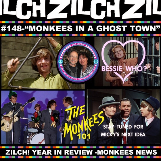 "Drs. Rosanne Welch and Sarah Clark discuss ""Monkees in a Ghost Town"" on the Zilch Podcast's Monkees 101 Series [Audio]"