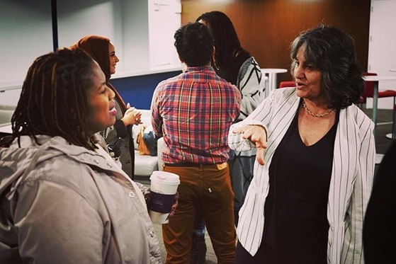 Dr. Rosanne Welch speaks with writer-producer Dayna Lynne North via Instagram