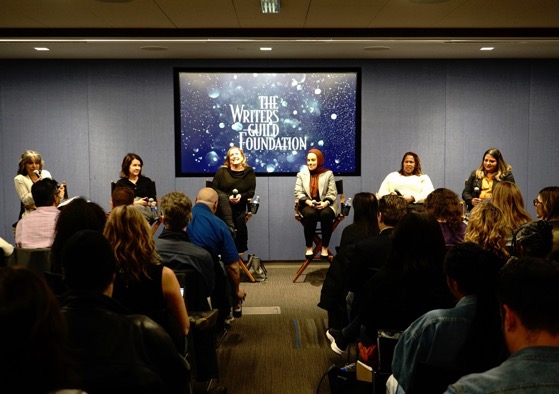 Between the Sheets: Writing About Sex on Television Panel via Instagram