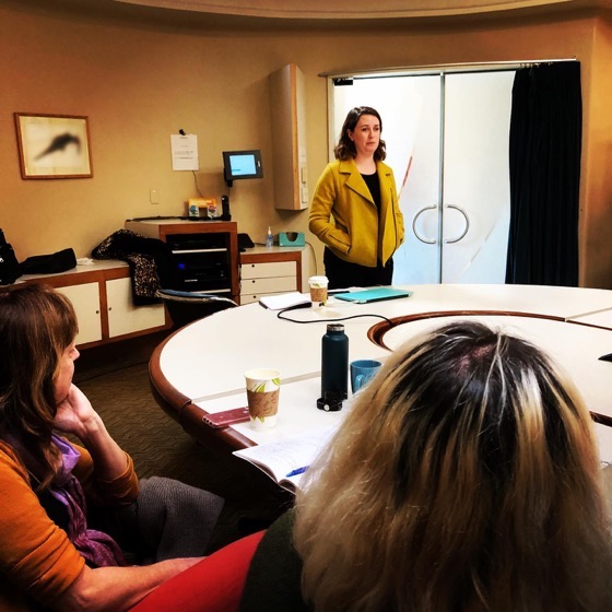 Lilliana Winkworth Presents On Writing Sketch Comedy at Stephens College MFA in TV and Screenwriting Winter Workshop