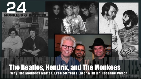 24 The Beatles, Hendrix, and The Monkees from