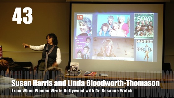 43 Susan Harris and Linda Bloodworth-Thomason from