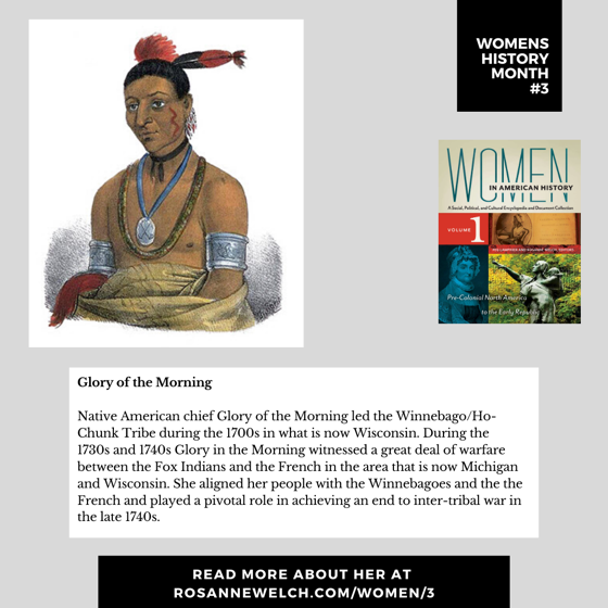 Womens History Month 3: Glory of the Morning
