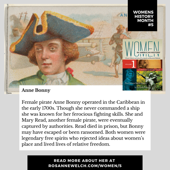 Womens History Month 4: Anne Bonny