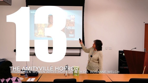 13 The Amityville Horror from When Women Write Horror with Dr. Rosanne Welch