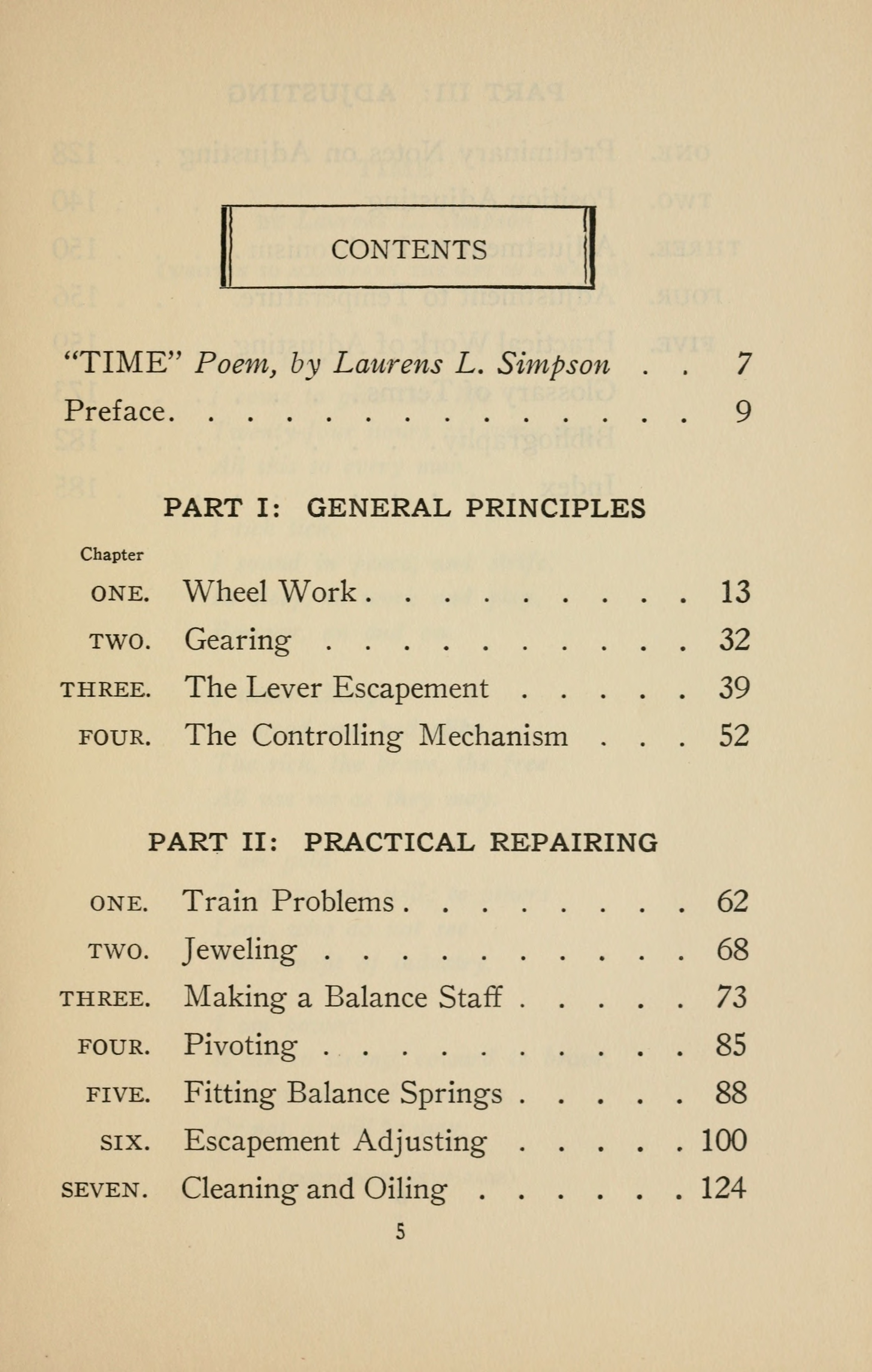 Historical Technology Books:  A practical course in horology (1944) by Harold Caleb Kelly - 17 in a series