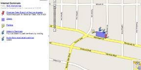 Google MyMaps Screen Shot
